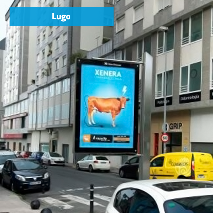 Mupi estándar XENERA Lugo
