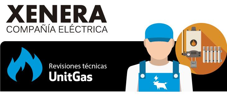 UnitGas es el servicio de mantenimiento de gas de XENERA