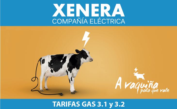 Gas. Tarifa 3.1 y 3.2 de XENERA Compañía Eléctrica
