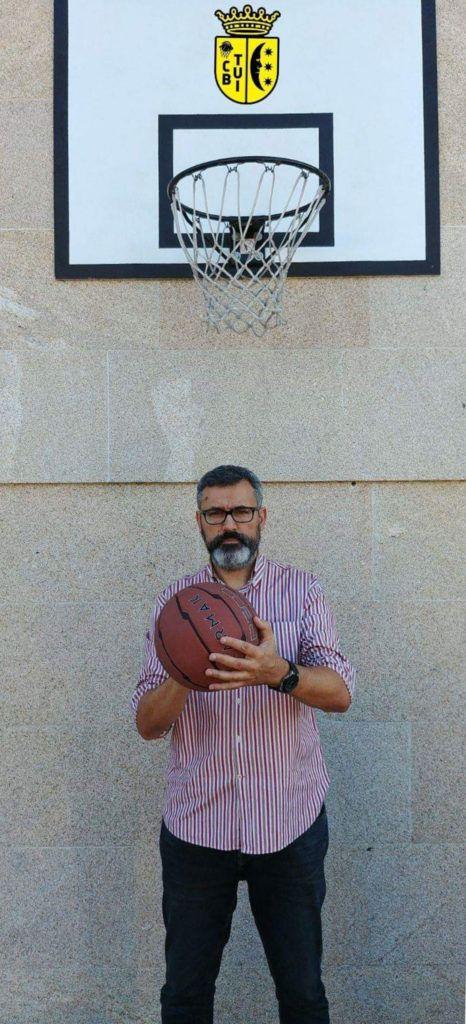 José Carlos, Presidente del Club Baloncesto Tui