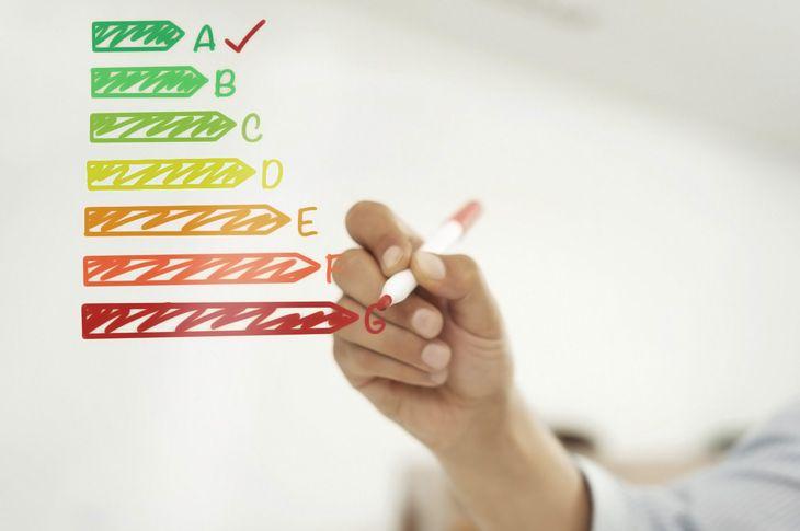 Etiqueta enerxética para saber a eficiencia