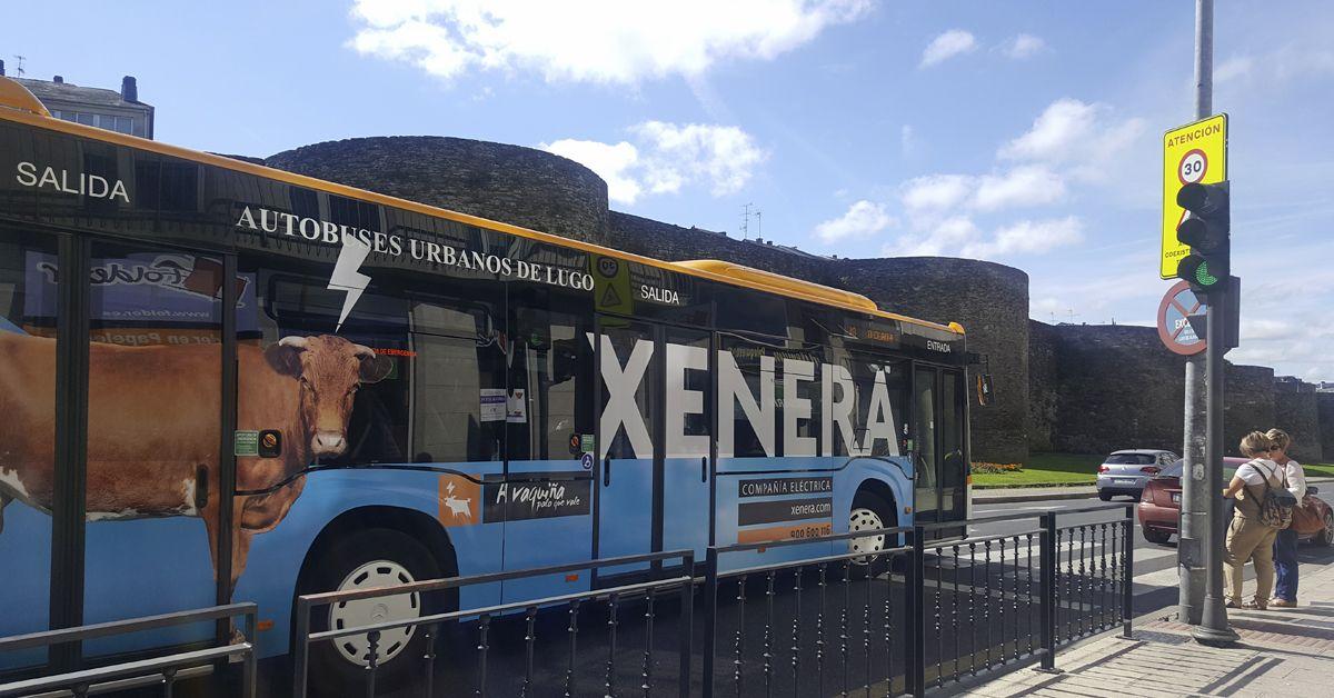 Autobús XENERA en Lugo