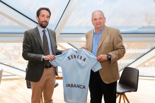 XENERA Compañía Eléctrica ya tiene su camiseta del RC Celta.