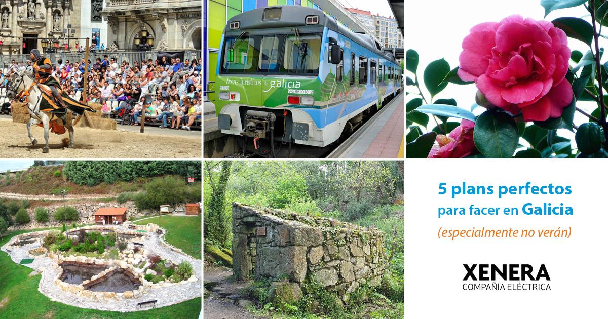 5 plans en Galicia para o verán