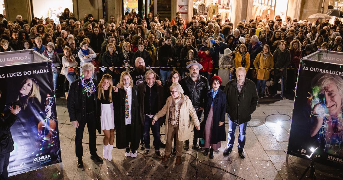 As Outras Luces de Vigo, evento organizado por AMovida Vigo coa colaboración de XENERA Compañía Eléctrica.