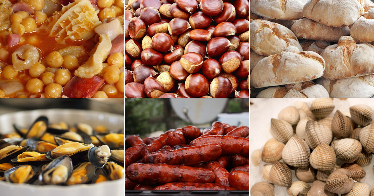 Festas gastronómicas Galicia