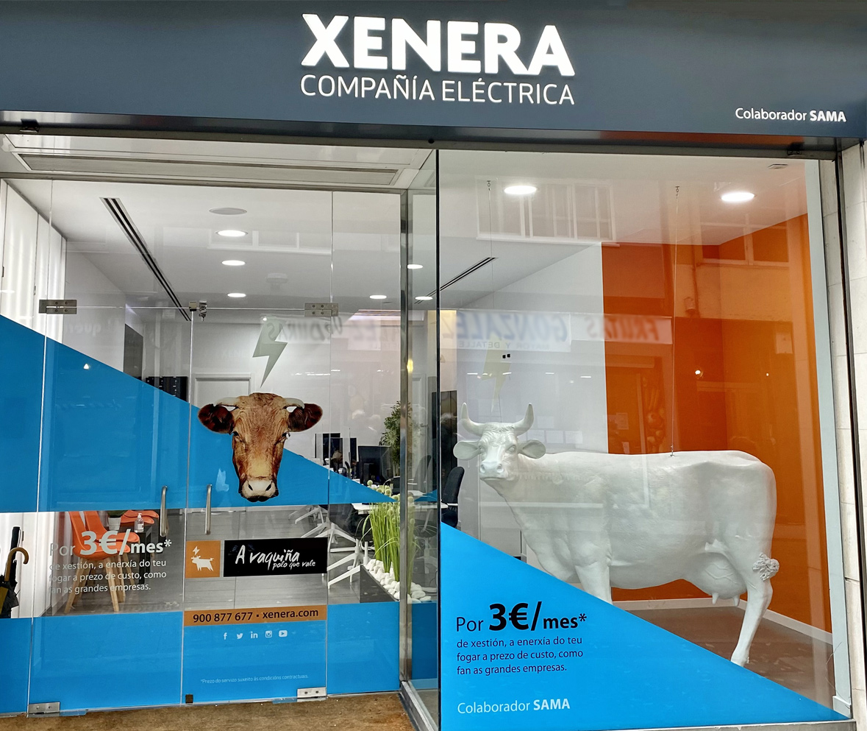 Xenera Compañía Eléctrica A Coruña Colaborador SAMA