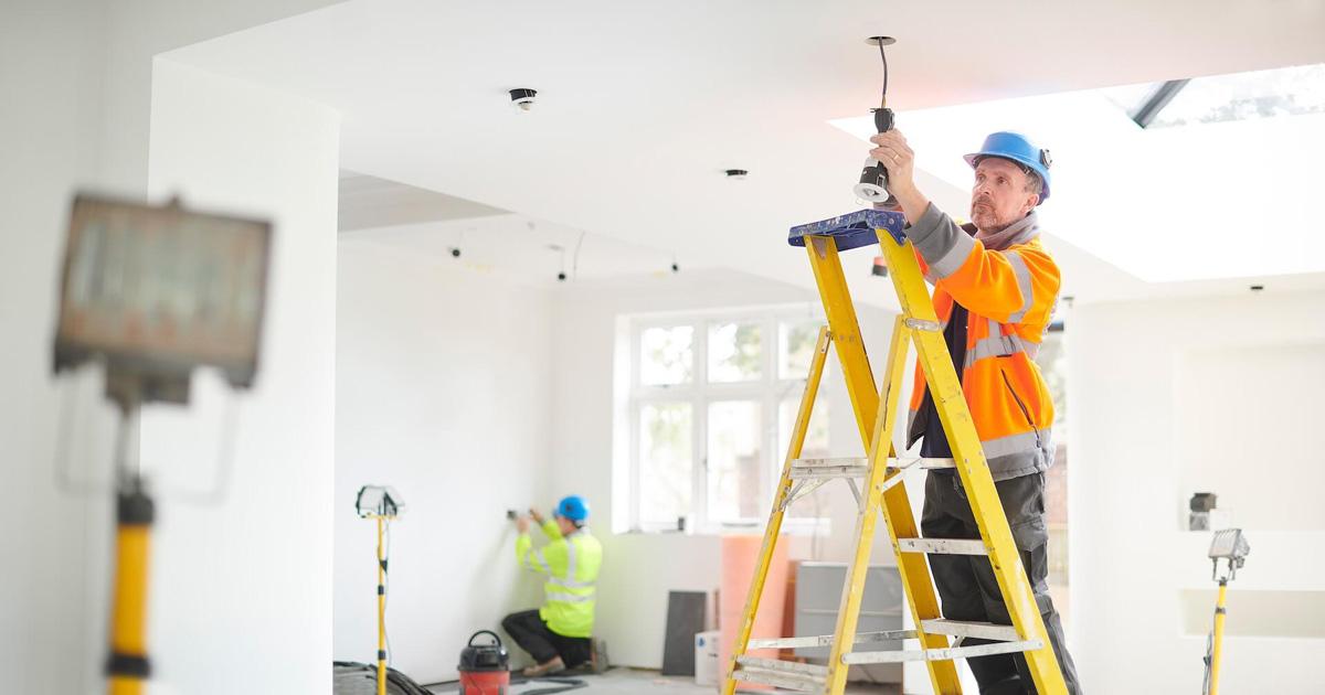 Dar de alta luz de obra